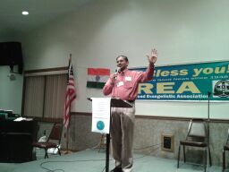 Ministry time during 71st National Convention of the Railroad Evangelistic Association – Sep 10 – 14, 2012