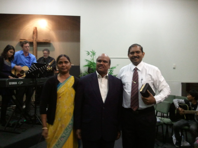 Blessed Moments with Mr B V R DAVID
