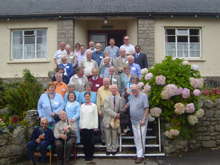 Blessed moments with the delegates of BTCF in the United Kingdom during Sep 10th and 11th of 2010